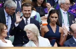 Wimbledon 2014 : Le couple Beckham complice face à Kate Middleton et son prince