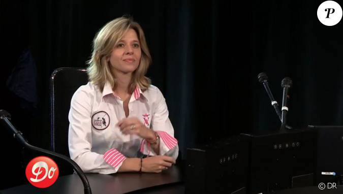 Wendy bouchard lors de son interview pour g n ration club do le 4 juillet 2014 - Wendy bouchard et son compagnon ...