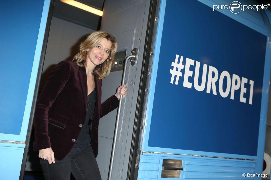 Wendy bouchard d part du train europe 1 des municipales 2014 en partenariat avec sncf et sfr - Wendy bouchard et son mari ...