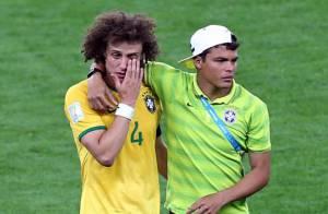 David Luiz et Thiago Silva : Les Brésiliens du PSG en larmes après l'humiliation