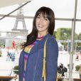 Exclusif - Nolwenn Leroy - Deuxième jour du Paris Eiffel Jumping présenté par Gucci, septième étape du Longines Global Champions Tour, à Paris le 5 juillet 2014.