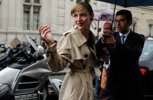 Fashion Week : Louise Bourgoin admire Conchita Wurst chez Gaultier