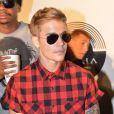 Justin Bieber lors du showcase de Rick Ross au Gotha Club de Cannes le 19 mai 2014