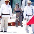 Maria Sharapova et son compagnon Grigor Dimitrov profitent du soleil de Cabos San Lucas, le 9 juillet 2014