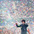Nicola Sirkis et son groupe Indochine en concert au Stade France à Paris. Le 27 juin 2014.
