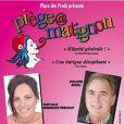 Piège à Matignon, en tournée dans toute la France, avec Philippe Risoli et Nathalie Marquay.