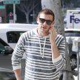 Cory Monteith dans les rues de Hollywood, le 17 mai 2013.