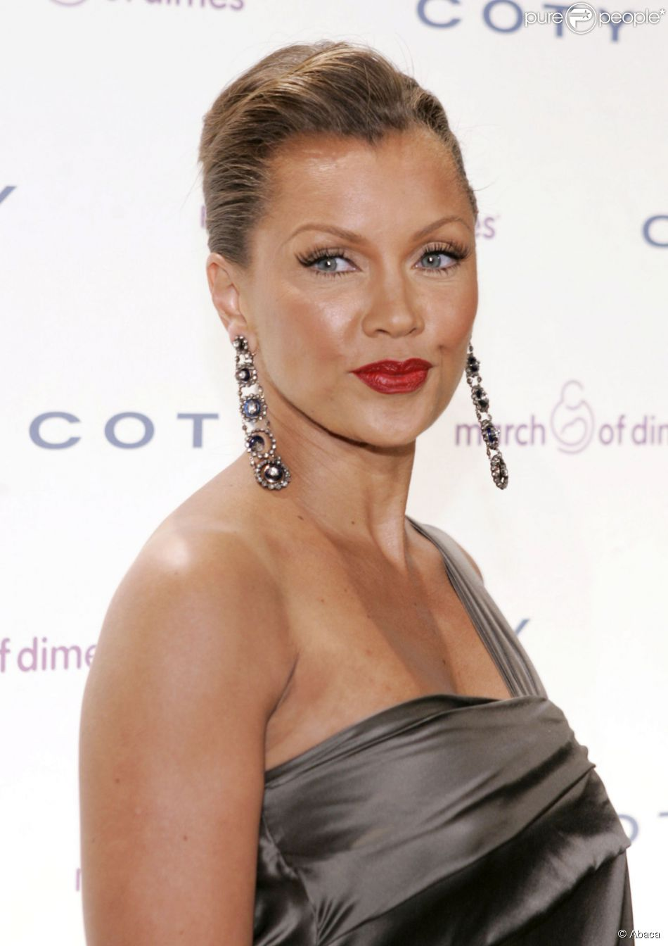 Actress Vanessa Williams poses at the March of Dimes 33rd Annual Beauty Ball, held at Cipriani 42nd Street in New York City, NY, USA on March 12, 2008. Photo by Donna Ward/ABACAPRESS.COM13/03/2008 -
