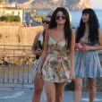 Selena Gomez profite de vacances à Ischia, le 20 juillet 2014.