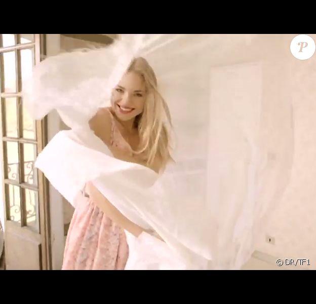 Sara dans le générique de Secret Story 8, sur TF1