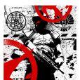 Affiche-teaser de La Révolte - Partie 1 pour le Comic-Con 2014 de San Diego.