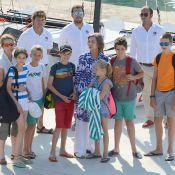 Famille royale d'Espagne : Les enfants en vacances à Palma, tous à bord !