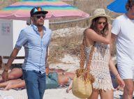 Neymar : Heureux blessé avec sa belle Bruna Marquezine et son corset