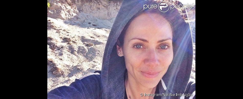 Natalie Imbruglia a publié un selfie au naturel sur Instagram, le 27 juillet 2014.