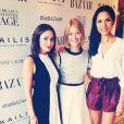 Natalie Imbruglia resplendissante pour une soirée le 22 juillet 2014.