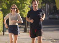 Geri Halliwell, folle amoureuse de Christian : Footing avec son homme