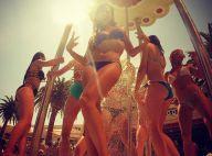 Clara Morgane : Déchaînée et sensuelle à une pool party de Las Vegas !