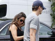 Mila Kunis, enceinte : Ashton Kutcher aux petits soins pour sa future femme