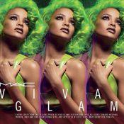 Rihanna : Bombe aux cheveux verts pour une rentrée Glam