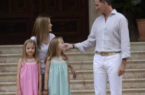 Letizia et Felipe VI : Tendres avec leurs filles à Marivent, Leonor épatante !