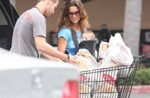 PHOTOS : Shaya, 6 mois, meilleur allié de sa maman Brooke Burke pour... faire les courses !