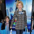 Alex Kingston et sa fille à la première de 'Monsters vs. Aliens' à Los Angeles, le 22 mars 2009.