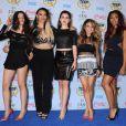 Camila Cabello, Dinah Jane Hansen, Lauren Jauregui, Ally Brooke, et Normani Hamilton du girlsband Fifth Harmony lors des Teen Choice Awards 2014. Los Angeles, le 10 août 2014.