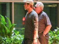 Brad Pitt et son papa : Moment de complicité et... de fureur !