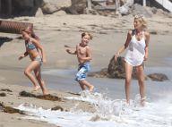 Tori Spelling : Maman relax à la plage, à nouveau inséparable de son mari Dean