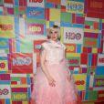 """Lena Dunham lors de la """"HBO Emmy Afterparty"""" à Los Angeles, le 25 août 2014."""