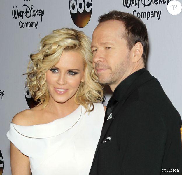 Jenny McCarthy et Donnie Wahlberg à New York, le 14 mai 2014.