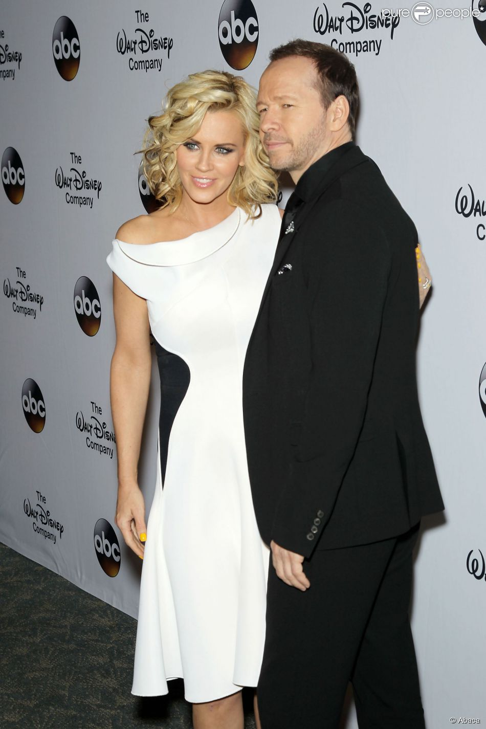 Jenny McCarthy et Donnie Wahlberg à New York, le 14 mai 2014.