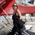 Kate Moss à Formentera, le 29 août 2014.