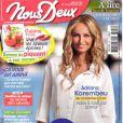 """Les confidences d'Adriana Karembeu sont à lire dans le nouveau numéro de """"Nous deux"""", en kiosques le 2 septembre 2014."""