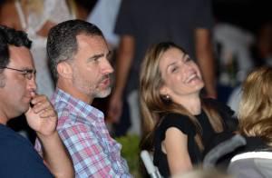 Letizia d'Espagne : Amoureuse et rieuse au bras de son mari, elle se déchaîne