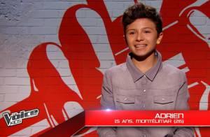 The Voice Kids, le meilleur : Adrien, jeune phénomène, réalise un départ canon !