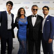 Andrea Bocelli et les siens, Laura Pausini amoureuse... Une nuit d'exception