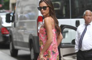 Victoria Beckham : Florale et détendue, elle acheve sa Fashion Week