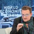 Bono à Davos, le 24 janvier 2014.