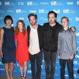 Olivia Williams, Julianne Moore, Robert Pattinson, Evan Bird, John Cusack lors du photocall du film Maps to the Stars au festival du film de Toronto le 9 septembre 2014