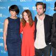 Olivia Williams, Julianne Moore, Robert Pattinson lors du photocall du film Maps to the Stars au festival du film de Toronto le 9 septembre 2014