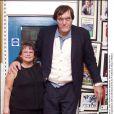 Richard Kiel en compagnie de son épouse Diane en 2003.