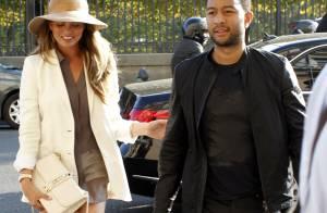 Chrissy Teigen et John Legend : Vacances en amoureux à Paris