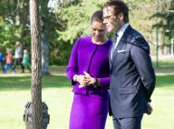 Victoria de Suède : Promenade haute en couleur avec son mari Daniel à Umea