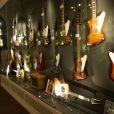 La princesse Victoria et le prince Daniel de Suède ont découvert le Musée des guitares à Umea le 11 septembre 2014