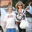Pia Zadora et son fils Jordan en 2008 à Los Angeles