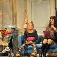 """""""Nicolas Lumbredas, Emmanuelle Bougerol - Filage de la pièce 'Le Père Noël est une Ordure' mise en scène par Pierre Palmade au Théâtre Tristan Bernard à Paris le 11 septembre 2014."""""""