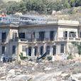 Le premier jour de tournage du film By the Sea avec Angelina Jolie et Brad Pitt à Gozo sur l'île de Malte le 4 septembre 2014