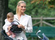 Michelle Hunziker enceinte : Maman radieuse et comblée avec sa petite Sole