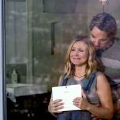 Kristen Bell enceinte : Avec Dax Shepard dans une vidéo très intimiste